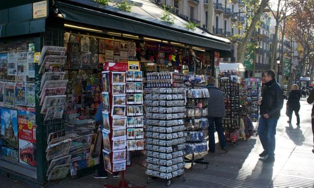 spanish kiosk